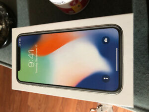 iPhone X 64gb NEW
