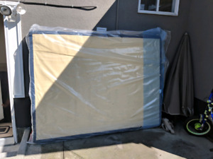 Low Profile Queen Box Spring Brand New in cover.