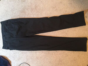 Size 30 black lululemon dress style pants