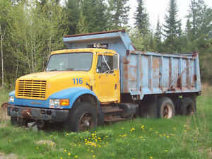 1990 International Tandem Dump Truck