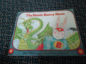Reading Rainbow The Bionic Bunny Show Paperback***RARE***