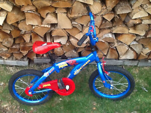 "16"" Spider-Man bike"