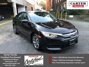 2016 Honda Civic EX + CERTIFIED + MANAGERS SPECIAL!