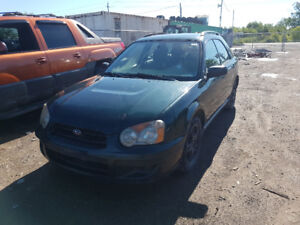 2004 IMPREZA... JUST IN FOR PARTS AT PIC N SAVE! WELLAND