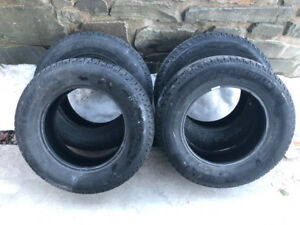 Michelin X-Ice Tires - Set of 4, 215/70/16