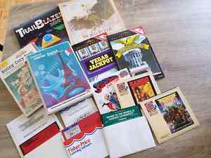 Range of Commodore 64 games.