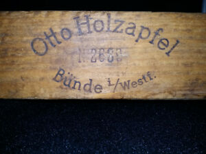 Wood Cigar Mold by Otto Holzapfel #29