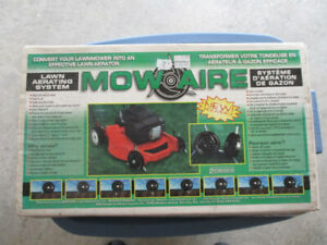 Lawn Mower Mow Aire Lawn Aerating Attachment
