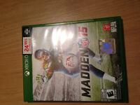 Madden 15 pour Xbox one garantie a vie et avec la facture