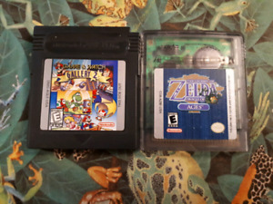 Nintendo Game Boy and DS games
