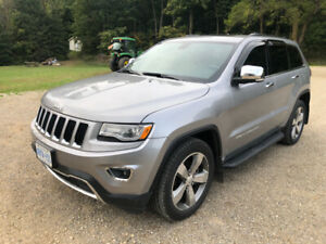 2014 JEEP GRAND CHEROKEE LIMITED - 34000KM!! - ACCIDENT FREE!!