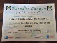 Paradise Canyon Golf