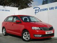2014 14 Skoda Rapid Spaceback 1.2 TSI Spaceback SE for sale in AYRSHIRE