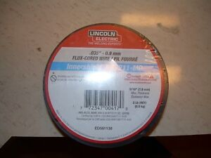 """Lincoln flux cored mig weld .035"""" wire 2lb rolls Kitchener / Waterloo Kitchener Area image 2"""