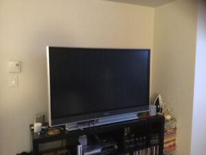 Télé 50 pouce à projection