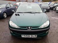 Peugeot 206 1.4 ( dig a/c ) 1999 MY SPECIAL EDITION ROLAND GARROS AUTO