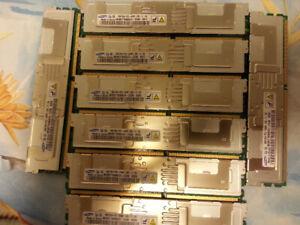 memoire 32GB 4x 8GB DDR2 PC2-5300 serveur Mac Pro 2006-2008