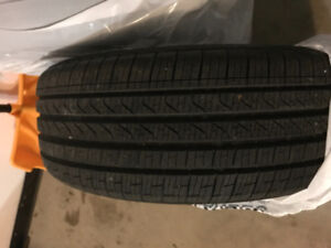 Like new pirelli run flat tires 17 inches