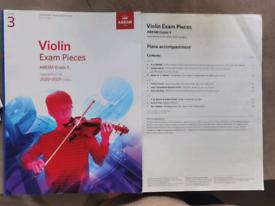 2020-2023 Violin book Exam Pieces Grade 3