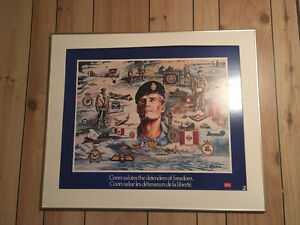 1986 Coors salutes the defenders of freedom poster (Rare)