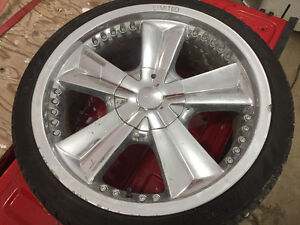 20 inch chrome universal bolt pattern 5 hole