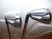 Nice Taylormade Speedblade Left Handed Iron Set 4 - SW