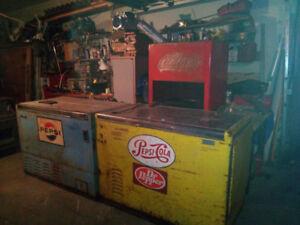 Vintage PEPSI refrigerators