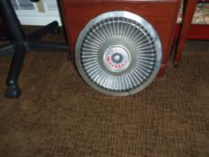 Old Ford Mercury Hubcap