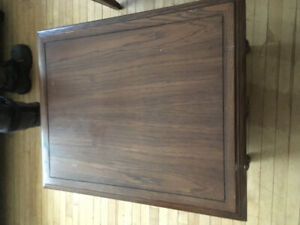 Small wooden table, vintage.