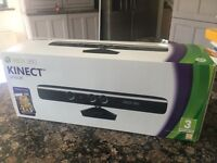 Brand new unopened Xbox360 Kinect with game