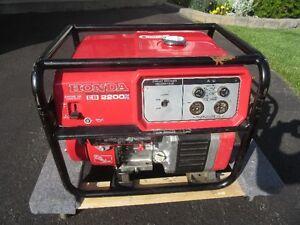 Honda EB2200X Generator Prince George British Columbia image 1