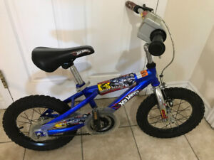 """14"""" Hot Wheels child's bicycle"""