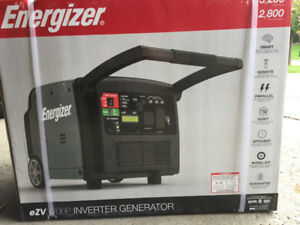 3200 Watt Electric Start Energizer EZV3200P Inverter Generator