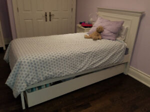 Bunk House Solid Wood Twin Bed - 2yr old - $599.00 OBO