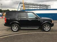 "LAND ROVER DISCOVERY 3 2.7TDV6 HSE AUTO 2009 ""09"" REG 114,000 MILES BLACK/BLACK"
