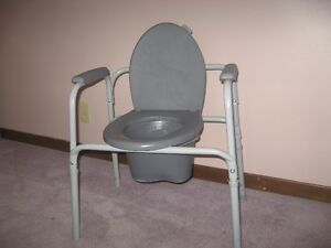 Toilet Commode with pail Windsor Region Ontario image 1