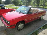 1986 Renault Alliance Convertible Sell or trade for motorcycle