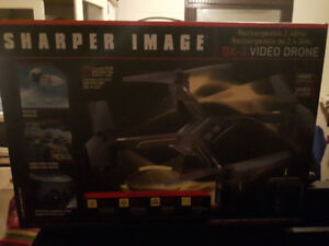 """Sharper Image DX-3 14.4"""" Large Drone with Camera x2"""