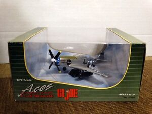 GI Joe P-51D Mustang The fighters of WWII scale: 1:72