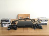PS3 Slim with 19 games