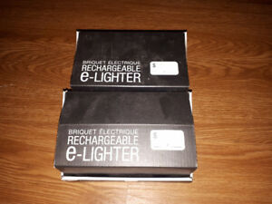 rechargable E lighters