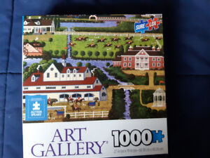 Hometown 1000 piece puzzles