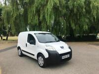 2011/61 Peugeot Bipper 1.4 HDi 8v S Class II Sliding Side Door Panel Van White