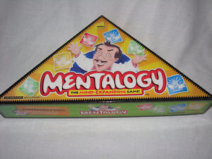 Mentalogy-Board Game-2005 (new condition)