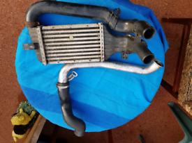 Vauxhall 2.0 dti intercooler & pipes
