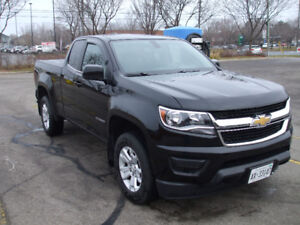 2016 chev colorado LT--4dr extended cab, 16200 kms