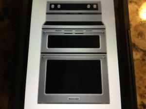 Kitchen Aid 30 inch Double Oven