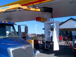 Picker Truck Crane Services Transport and Hotshot Edmonton Edmonton Area image 4