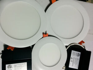 "led slim 4 "" 12.99 RETROFIT housing combo $9.99"