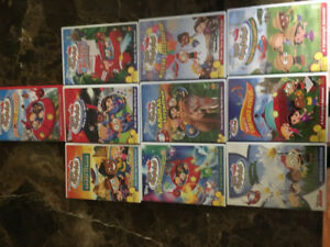Disney's little einsteins DVD's